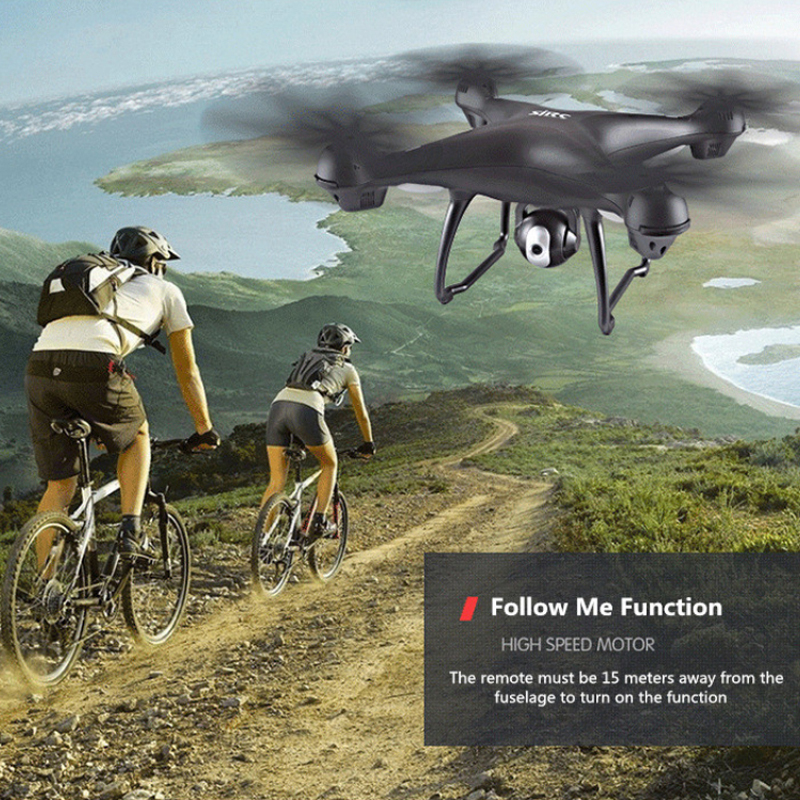 S70W GPS FPV RC Drone with 1080P HD Adjustable Wide-Angle Camera WiFi Live Video Follow Me GPS Return Home RC Quadcopter Dron 3