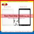 De alta Calidad Para El Aire Ipad 5 Pantalla Táctil Digitalizador Del Sensor + Home + Adhesivo Flex Asamblea de Cristal Del Panel Blanco negro