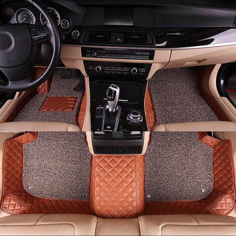 car floor mat carpet rug ground mats for Skoda fabia 1 2 3 kodiaq octavia 1 2 a5 a7 rapid spaceback superb 2 3 yeti karoq