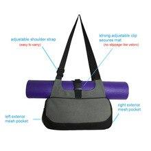 Yoga Mat Bag Waterproof Backpack Shoulder Messenger Sport Bag For Women Fitness Gym Bag (No Yoga Mat)