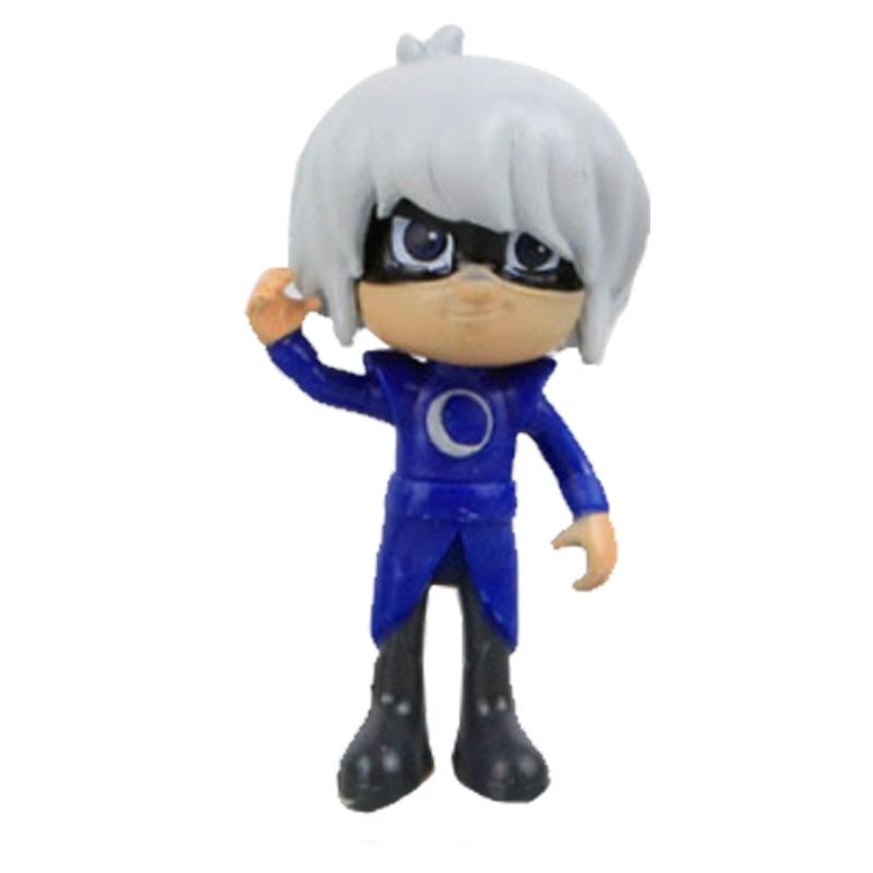 Новое постулат 2018 6 шт./комп. 8-9 см маски для век symbols catboy owlette гекко пла фигурку игрушки для мальчиков подарок на день рождения пластик куклы