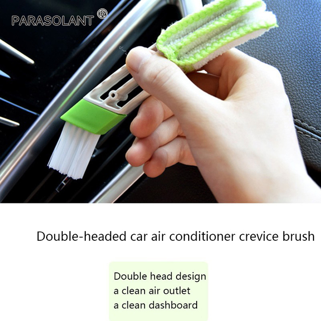 Auto Accessories Car Detailing Car Air Conditioning Air Outlet Cleaning Brush Car...
