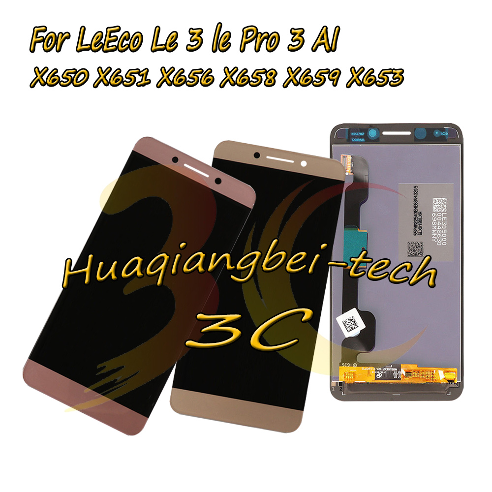 New 5.5'' For LeTV LeEco Le3 <font><b>Le</b></font> 3 lePro3 AI X650 <font><b>X651</b></font> X656 X658 X659 X653 Full LCD DIsplay + Touch Screen Digitizer Assembly image