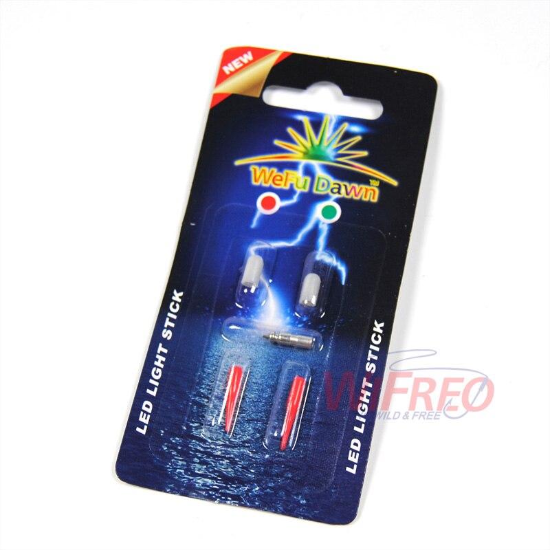 [4-packs] ZEER KLEINE Rood / Groen Mini 3mm Body Elektronische Rod - Visvangst - Foto 4