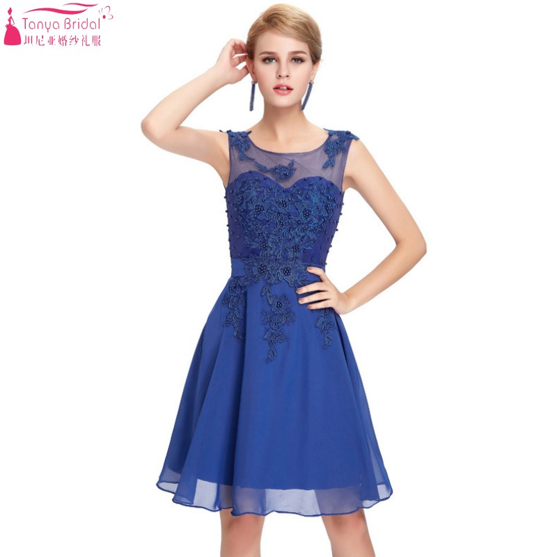 Online Get Cheap Royal Blue Short Semi Formal Dress -Aliexpress ...