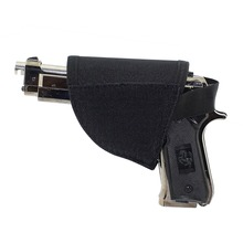 For 1 pcs Adjustable Right Hand Hook Loop Gun Holster Tactical Velcro Hook Pistol Holster