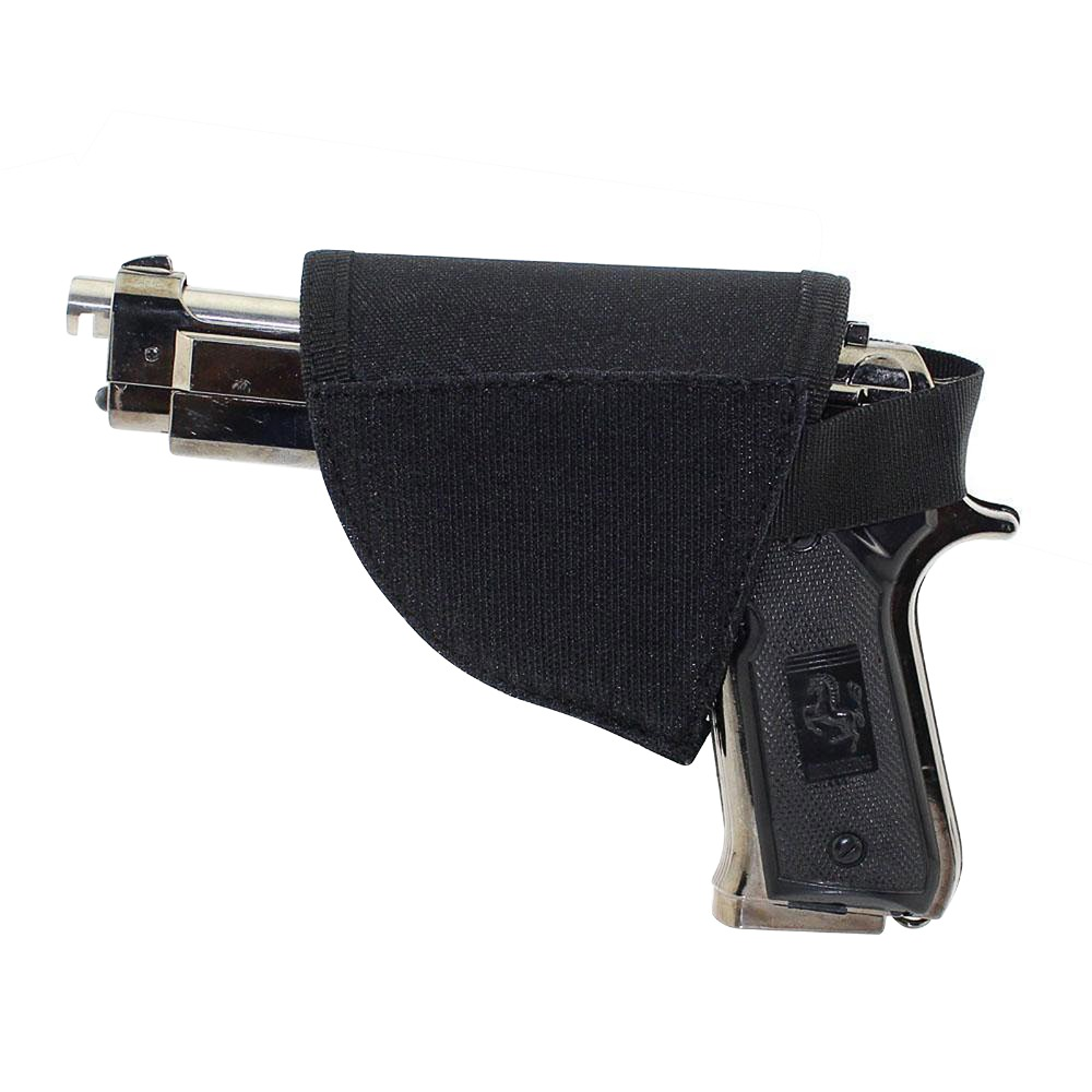 Hot selling Adjustable Right Hand Hook Loop Gun Holster Tactical Velcro Hook Pistol Holster