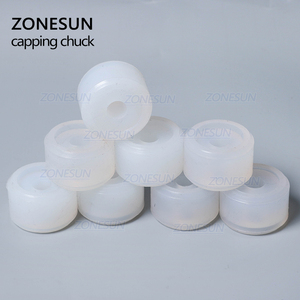 Image 5 - ZONESUN Friction Wheels Rubber Pad Capping Chuck Head For XLSGJ 6100 Medical Bottle Capping Machine Cosmetic Perfume Juice