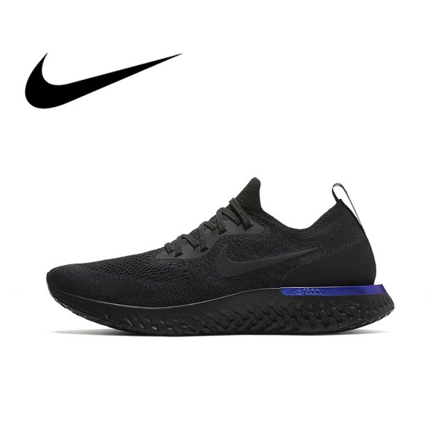 258f9bec9deda Original Authentic Nike Epic React Flyknit Men s Breathable Running Shoes  Sport Sneakers Athletic 2018 New Arrival AQ0067 004-in Running Shoes from  Sports ...