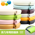 Child Safety Products 2m Baby bumper strip Baby Safety Corner protector Table Edge Corner Cushion Strip with 3M Sticker u type