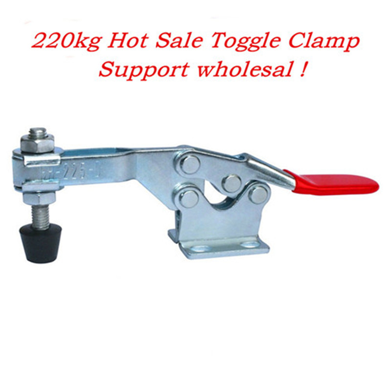 227KG 500lbs Holding Capacity Quick Release Handle Vertical Type Toggle Clamp