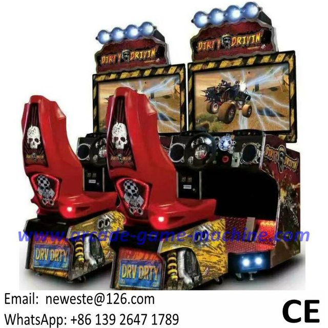 guangzhou usine arcade simulateur sale conduisant la voiture de course machine de jeu dans. Black Bedroom Furniture Sets. Home Design Ideas