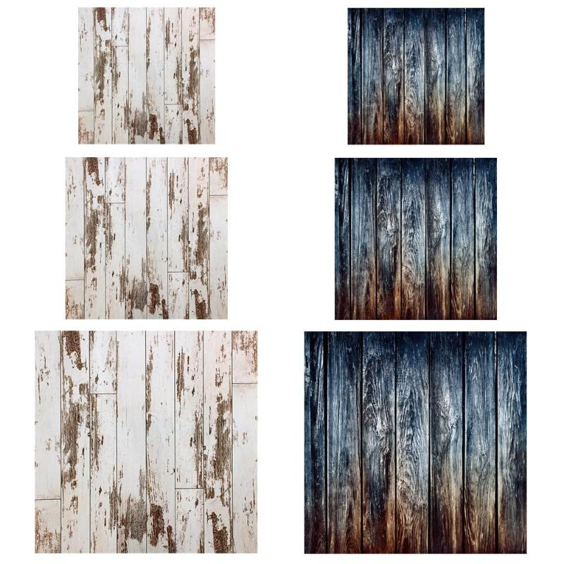 ALLOYSEED Vintage Retro Wooden Planks Texture Photography Background Cloth For Studio Photo Photographic Backdrop Decor Props
