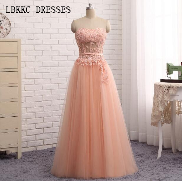 Evening Dress 2017 Sweetheart Tulle Coral Party Gown Floor Length Vestido  De Festa Longo Imported Party Dress 3e3d2fb23154
