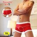 Underwear U Convex 2016 Cuecas Masculina Brand Cotton Underwear Men Boxers Shorts Penis Pouch Boxers