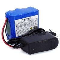 LiitoKala 14.8V 4.4Ah 18650 li-om battery night fishing lamp miner's heater battery booster with BMS + 16.8 V Battery Charger