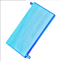 170x86x18mm Aluminum Water block Outer diameter 9.5mm Pagoda Joint for Computer Industrial water cooling cooler