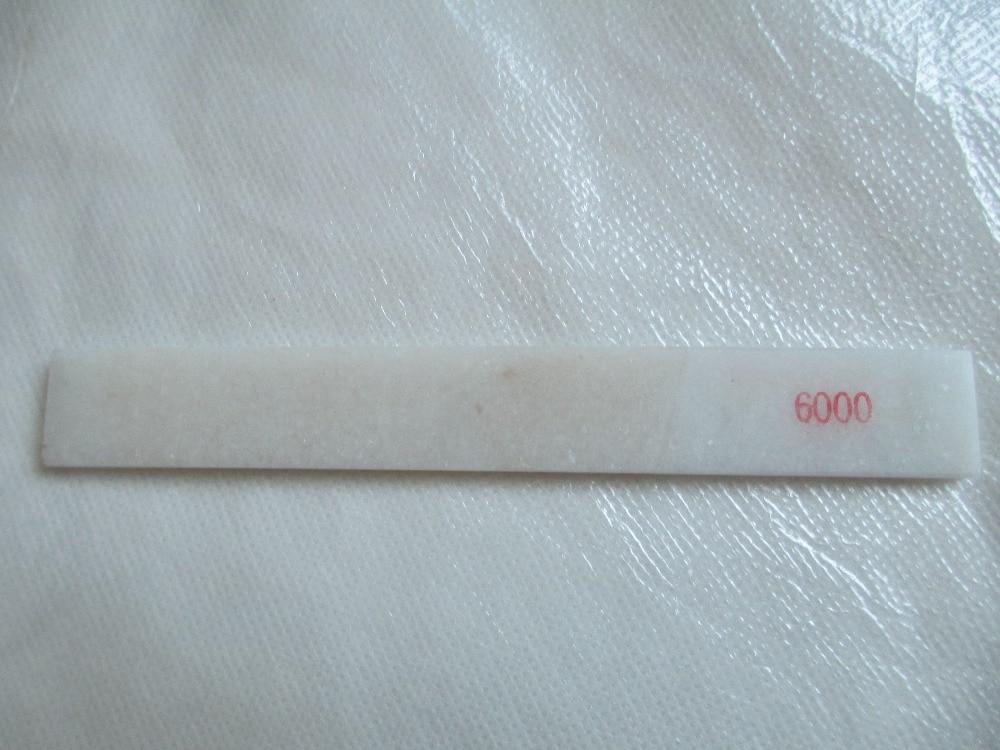 """Itin aštrus baltojo agato aliejaus akmuo """"Whetstone 6000 #"""" skirtas """"Knife Angle Guide"""""""