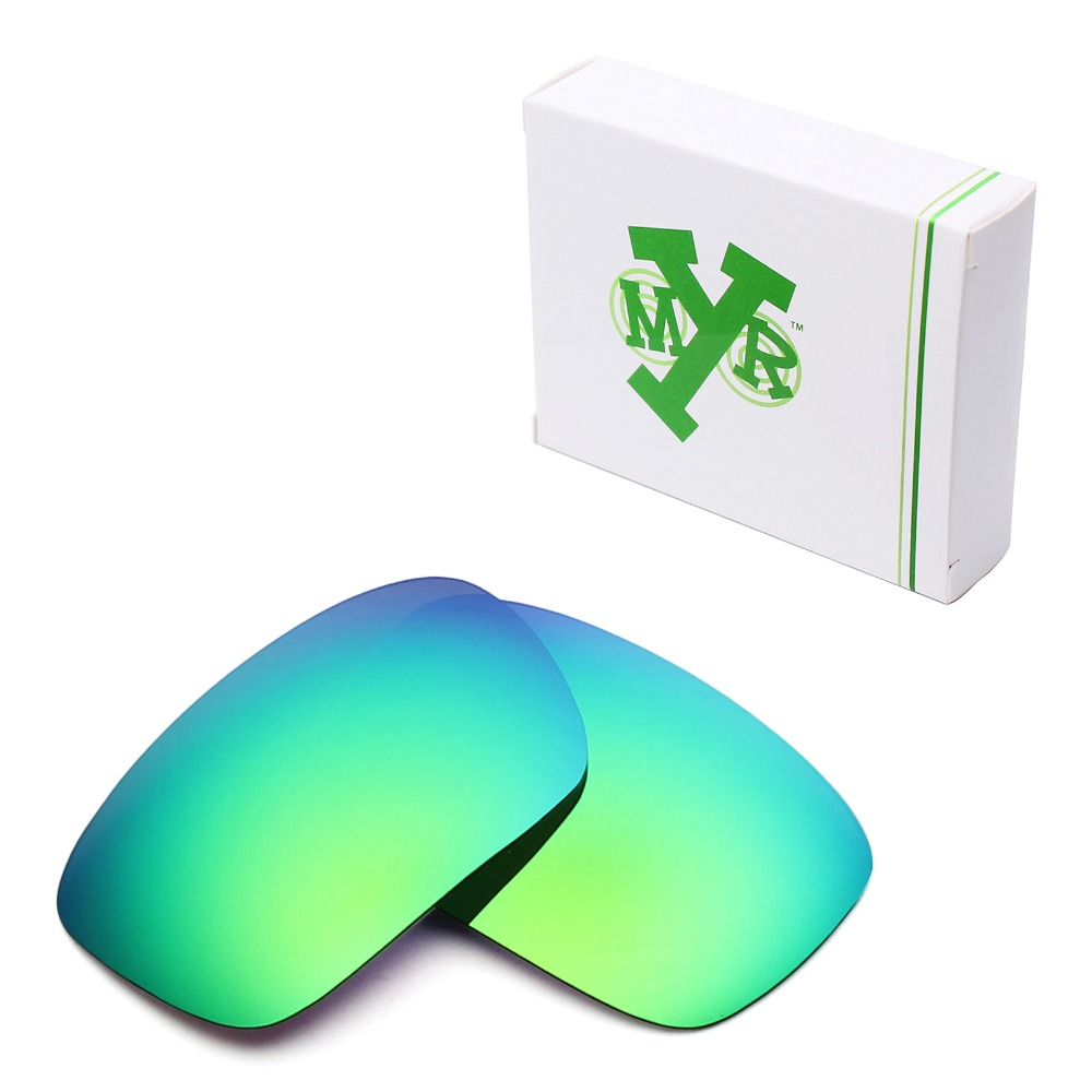 Mryok POLARIZED Replacement Lenses for Oakley Badman Sunglasses Emerald Green