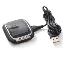 Новое поступление 2017 года Колыбели Зарядное устройство зарядной док-станции для ASUS zenwatch WI500Q часы с USB кабель Бесплатная доставка и оптовая продажа NOA27