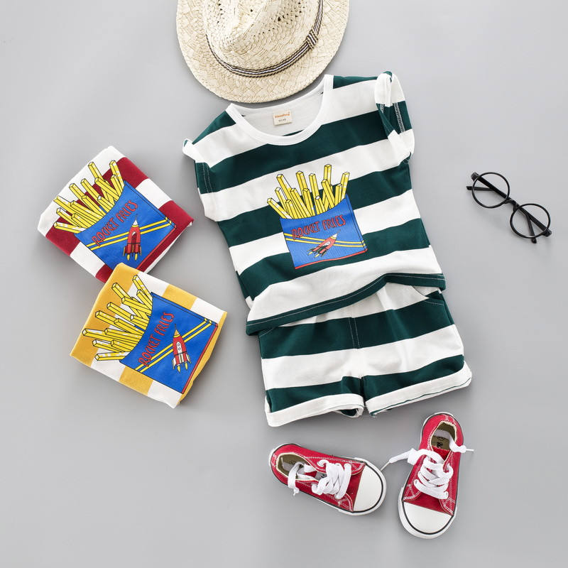 0-Four years Top quality boy lady clothes set 2019 summer season new informal lively child youngsters child clothes T-shirt+pant 2pcs Clothes Units, Low cost Clothes Units, Zero Four years...