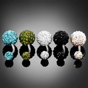 Женское кольцо для пупка, из нержавеющей стали, 1 шт.