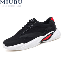 MIUBU Sneakers Fashion Leisure Spring and Autumn Comfortable Soft Mens Casual Shoes for Adult Trainers Brand High quality