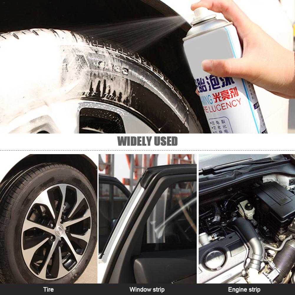 Воск для автомобильных шин, осветлитель для шин, спрей для шин, воск для автомобильных шин, осветлитель, сильная обеззараживающая пена, очищающая, Антивозрастная шина, жесткое покрытие