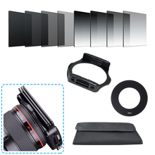 11in1 אוניברסלי ניטראלי צפיפות הדרגתי ND2 4 8 16 ערכת סינון עבור Cokin P סט SLR DSLR מצלמה עדשת מצלמה אביזרי צילום