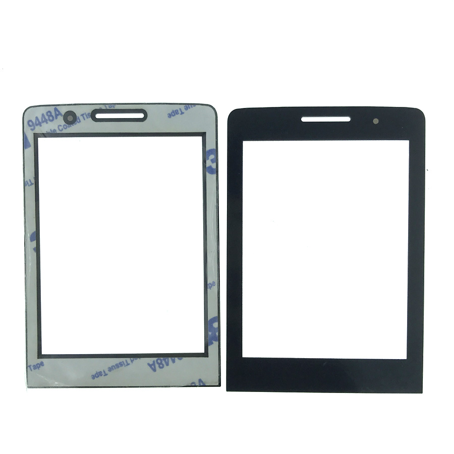 NEW For <font><b>PHILIPS</b></font> <font><b>E570</b></font> E571 Front panel lens Not Glass Touch Screen With 3M 9448A double faced Adhesive sticky Tape image