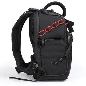 Image 4 - Jealiot сумка для фотоаппарата фоторюкзак рюкзак для фотоаппарата фотосумка чехол сумка для камеры Dslr водонепроницаемый рюкзак для ноутбука цифровой роликовый слинг с чехлом перегородка для Canon Panasonic Nikon Sony