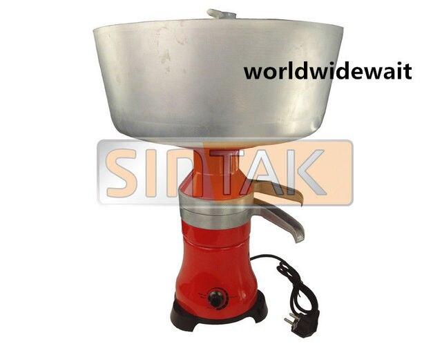 220 V Milch Creme Elektrische Separator 80L/h Entfettung Maschine ...