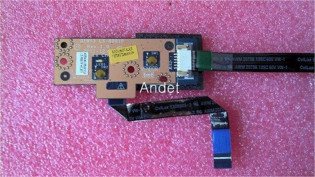 New Genuine Original Lenovo  Y580 LA-8001 LA-8002 Boot Small Board USB Subcard Board