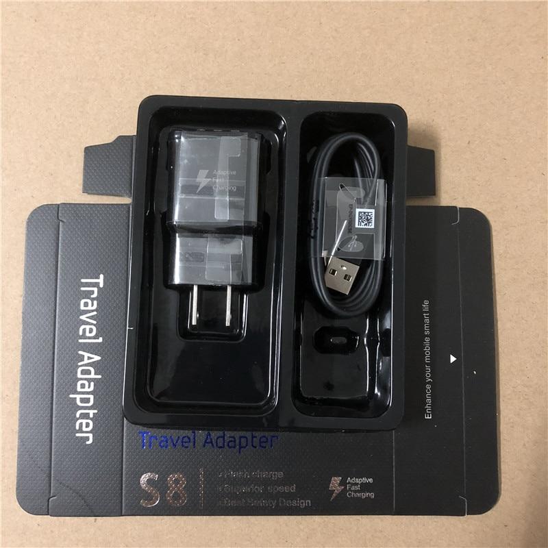 10set 9V 1 67A 5V 2A Fast Charging US EU UK plug Travel adapter Wall Fast
