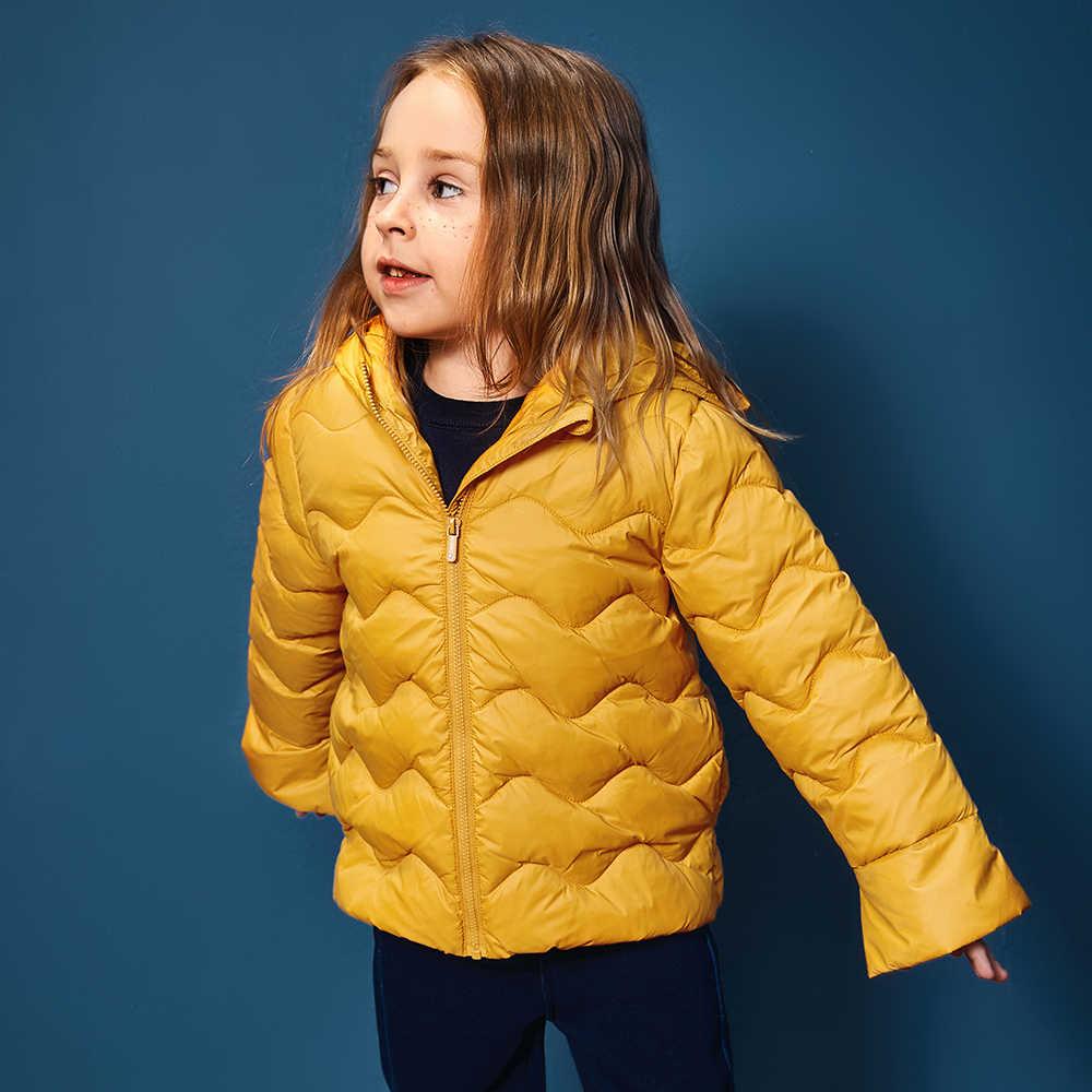 Mini Balabala Bambini Leggero Critter Puffer Giacca per le Ragazze Cappotto di Inverno Dei Bambini Giacca Con Cappuccio Outwear Formato 6 8 9 10 anno