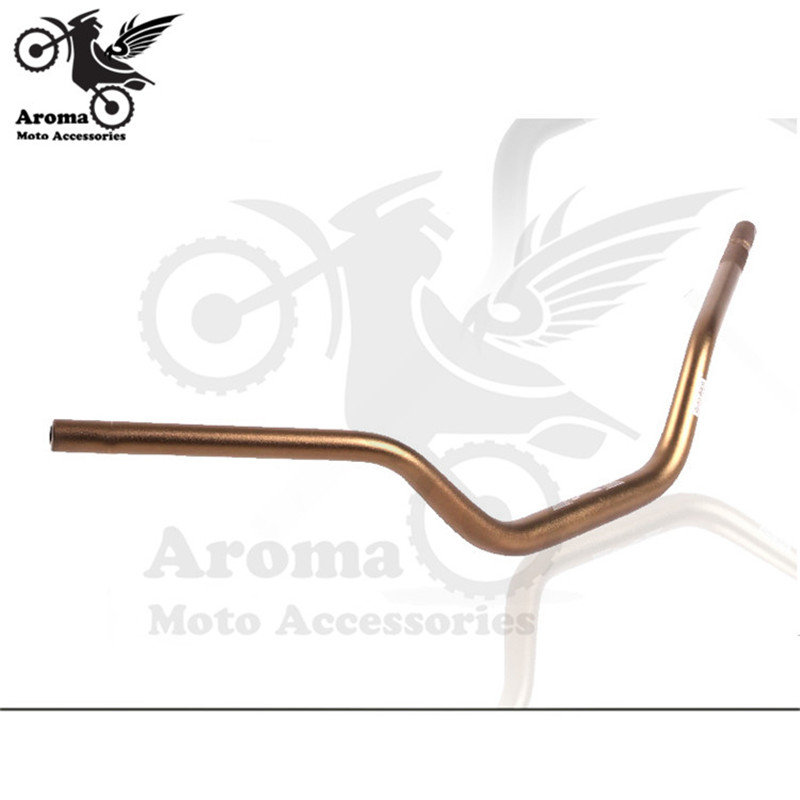 Top Quality Aluminum Alloy Scooter Handle bar Modified Motorbike Handlebar Motorcycle Accessories Retro Dirtbike ATV Handlebar