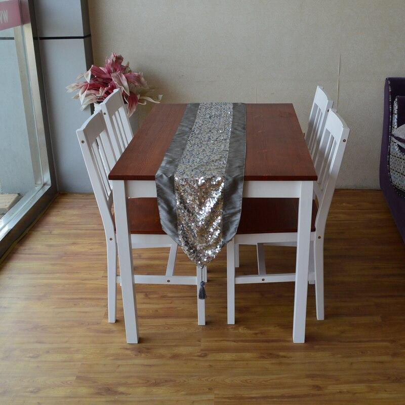 Wooden furniture IKEA modern Mediterranean white cloth chromatic red ...