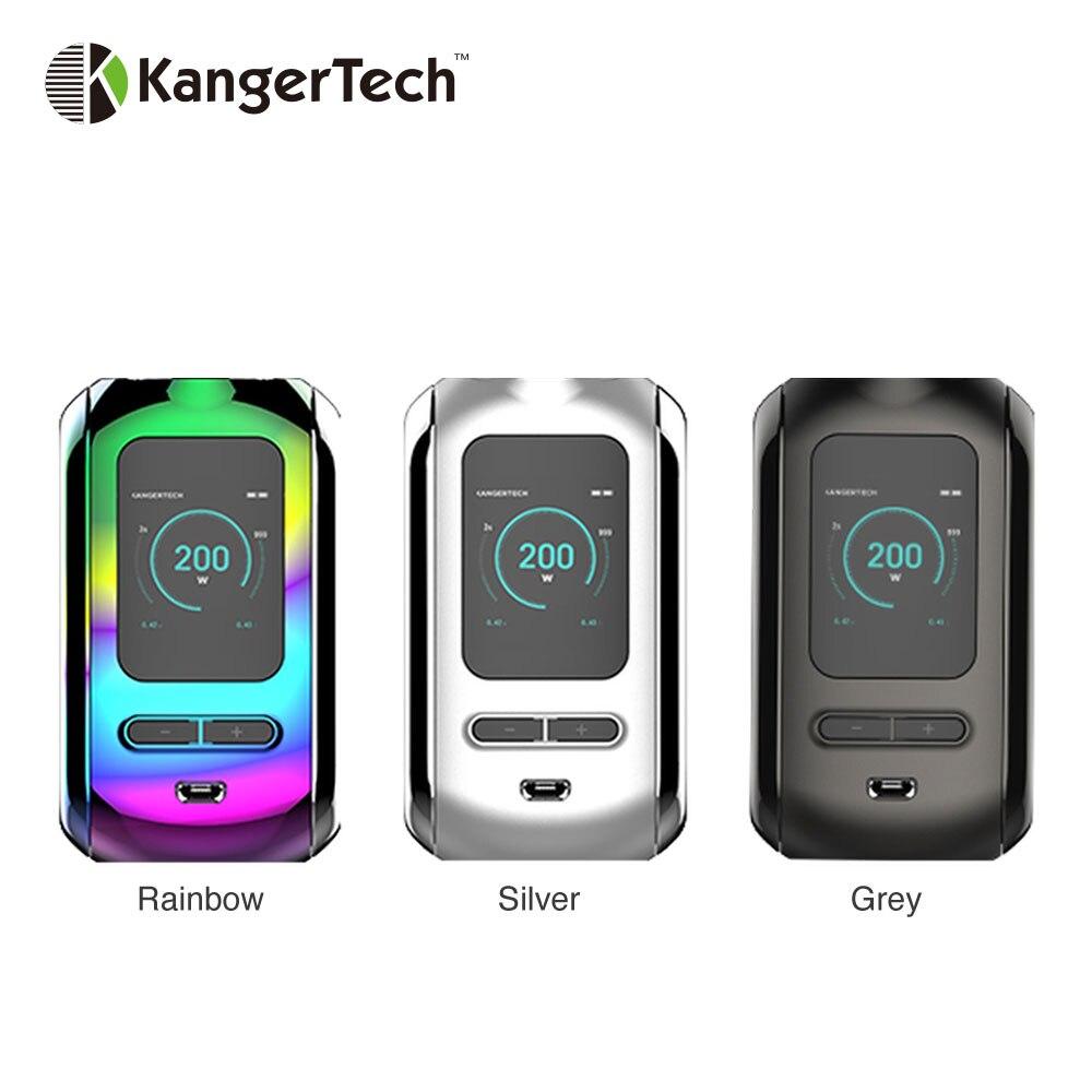 D'origine Kangertech Ranger 200 W TC Boîte MOD Puissance Réglable et Contrôle de La Température Ecig Vaporisateur Vaporisateur Mod VS Glisser Mod boîte