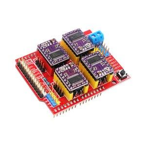 Image 5 - CNC Mở Rộng Ban V3.0 + UNO R3 Bảng + A4988 Động Cơ Bước Lái Xe Với Tản Nhiệt Cho Arduino