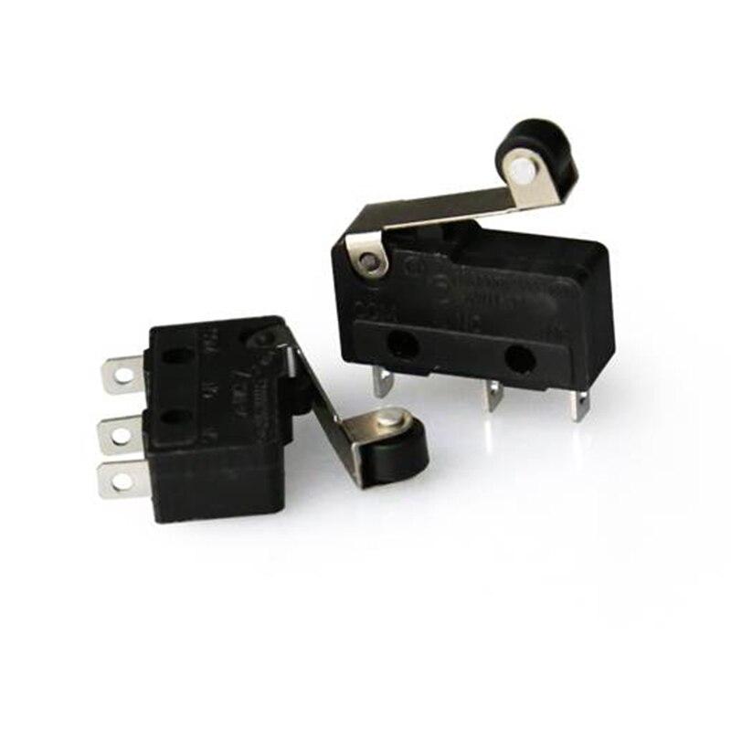 2 шт. Анет концевой выключатель МОДУЛЬ оптический ends3pin N/O N/C 5A 250VAC ручка KW11-3Z мини-чувствительных Микровыключатель 3d принтер части