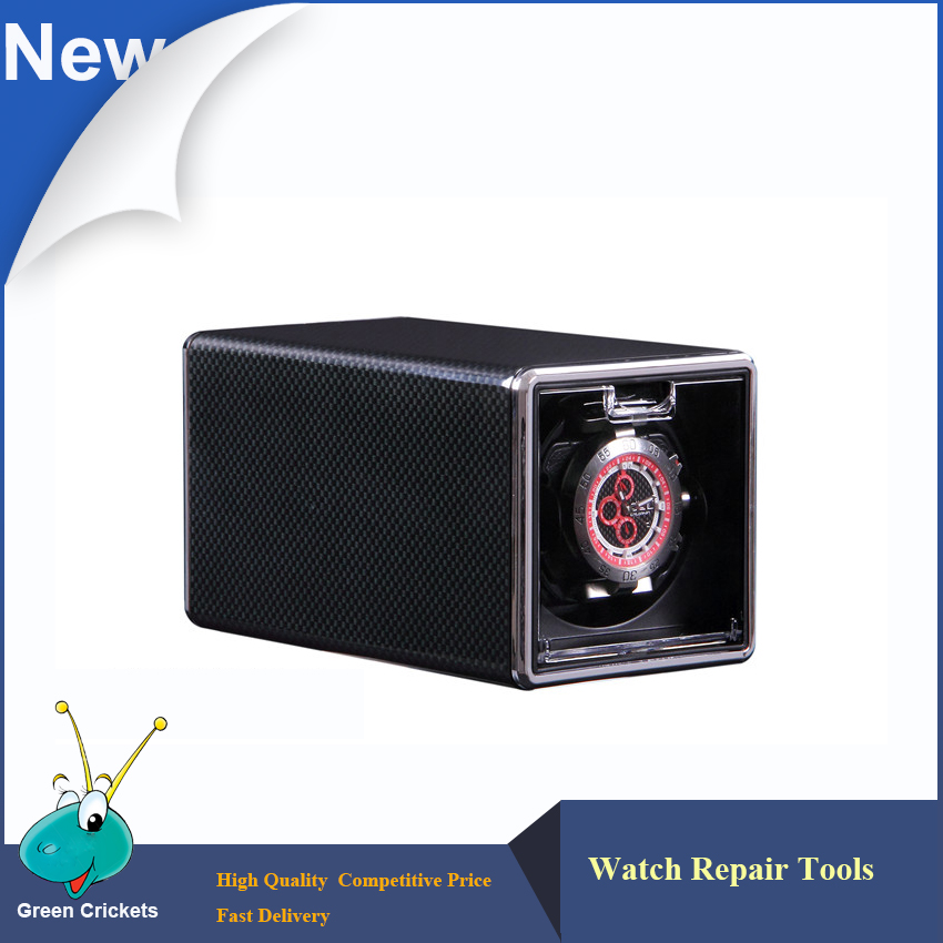 WRTOR Luxury Black Carbon fiber Automatic box Watch Winder