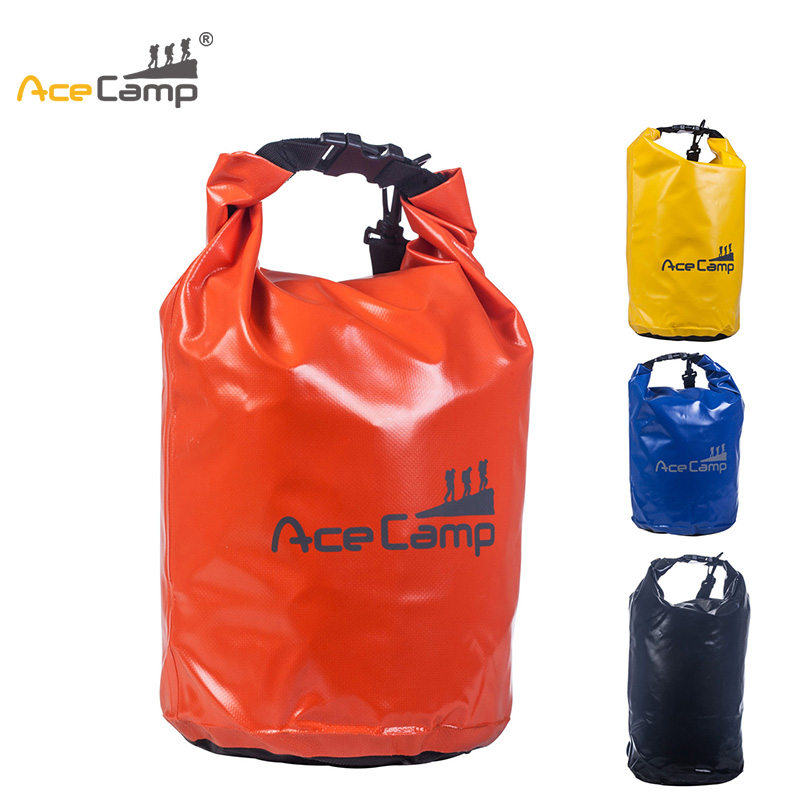 AceCamp 50L Bag for Outdoor Camping Travel Kits Waterproof Rafting Sports Swimming Bag Dry Sack Beach River Surfing acecamp outdoor sports waterproof dry floating bag for fishing surfing camping blue 20l