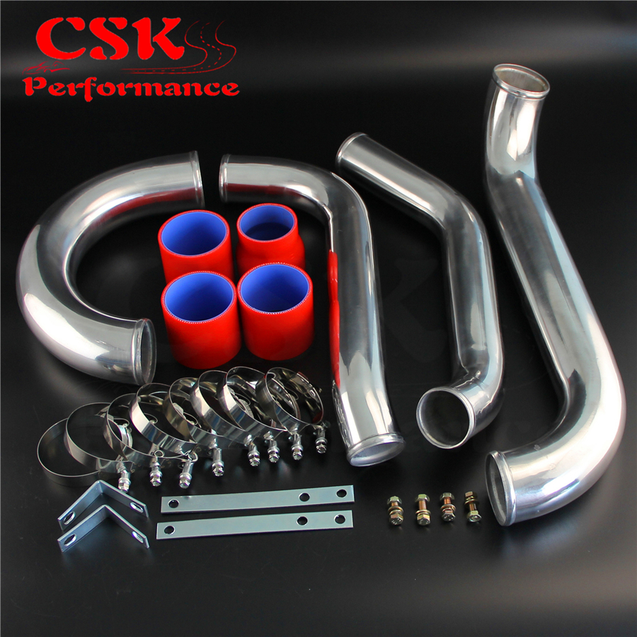 High Performance Intercooler Piping Kit Set Fits For Toyota Supra JZA80 2JZ GTE 93 98