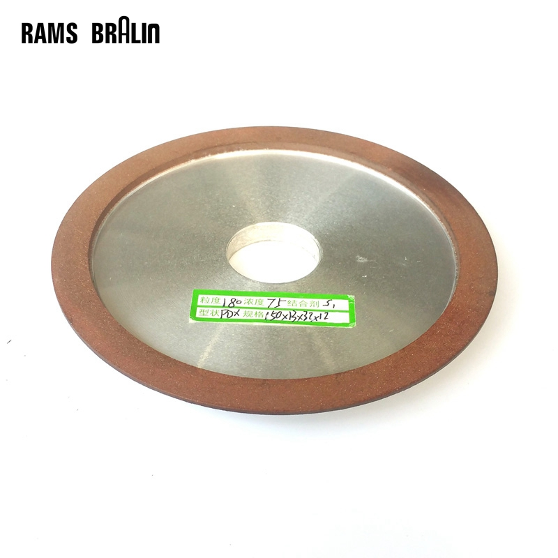 150 32 12 3mm Slope Diamond Resin Abrasive Wheel With