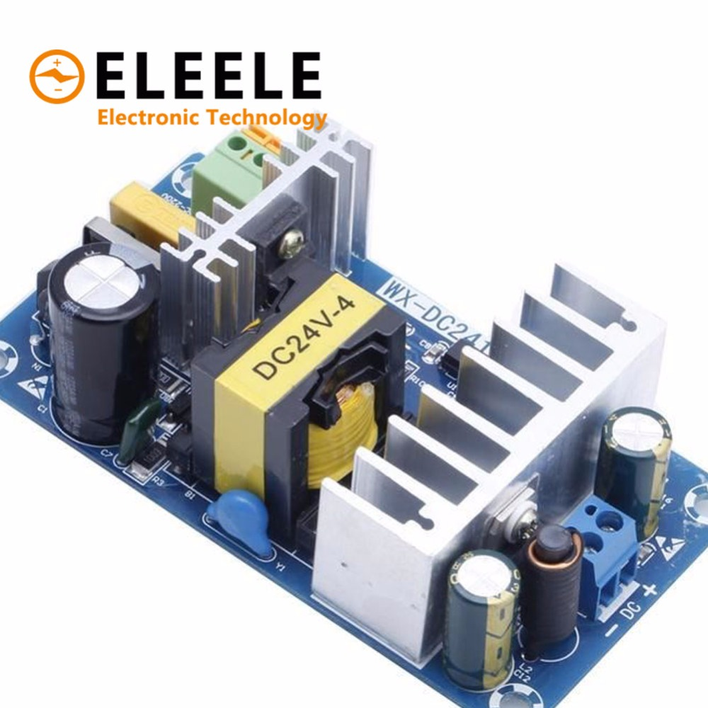 Módulo de fuente de alimentación AC 110 V 220 V a DC 24 V 4A-6A AC-DC de conmutación fuente de alimentación 828 promoción PN35