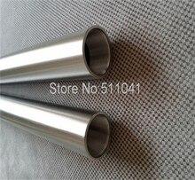 1 шт. Titanium thread tube Grade 5 Gr.5 Труб OD32mm х 26 мм ID, стены 3 мм, Длина 500 мм Резьба: M28 * 1.5