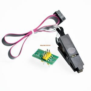 Image 3 - Ch341a 24 25 séries eeprom flash bios usb programador módulo + soic8 sop8 clipe de teste para eeprom 93cxx/25cxx/24cxx kit diy