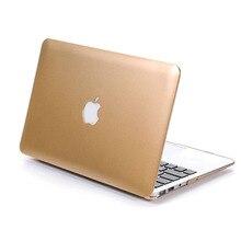 Vuelva a colocar la cubierta del ordenador portátil sin cremallera casos laptop para macbook pro 13.3 15.4 para macbook air 11.6 maletines bolso de la computadora accesorios