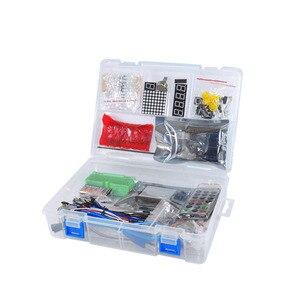 Image 4 - KEYES 1602 LCD 830 Placa De Ensaio R3 LEVOU Relé RTC Kit Eletrônico para Arduino Uno Starter Kit Versão Atualizada