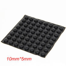 360PCS 10x5mm Black Self Adhesive Anti Slip Silicone Rubber Rubber Feet Pads Bumper Silica Gel Shock Absorber Pad(China)